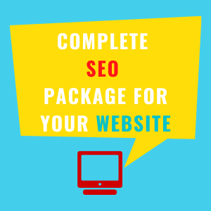 Complete SEO package for your website- hexrow