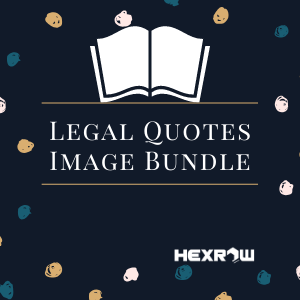HEXROW Legal Quotes Image Bundle