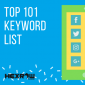 HEXROW Top 101 keyword list