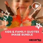 HEXROW kids & family image pack