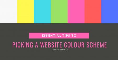 Essential Tips To Picking A Website Colour Scheme