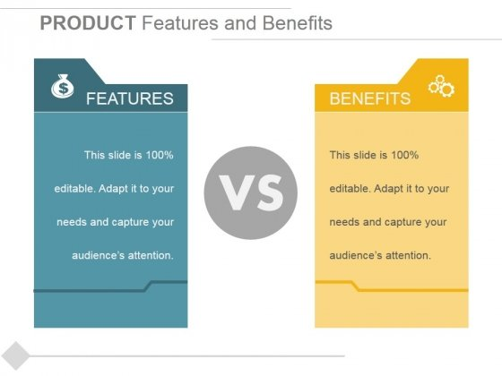 show product benefits