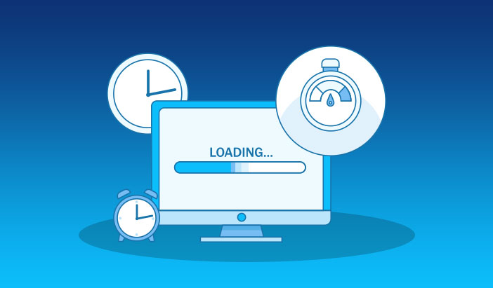 site loading time