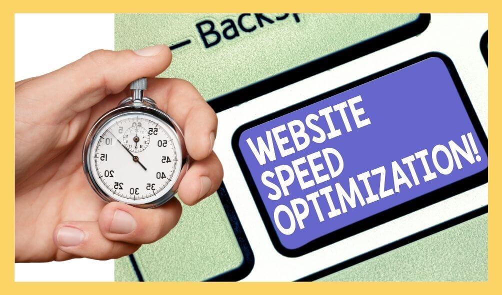 website speed optimization for ranking website