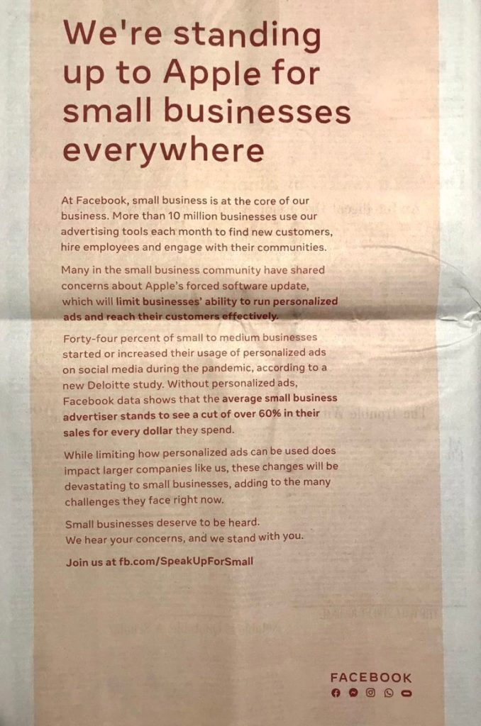 facebook-newspaper-Ad